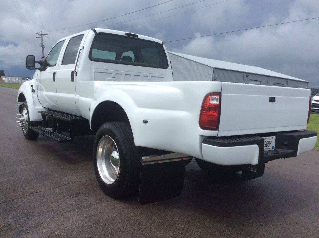 recent brake service 2005 Ford F650 Himarc Conversion Super Pickup