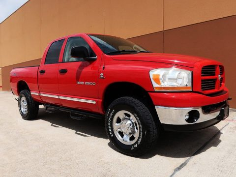 rust free 2006 Ram 2500 SLT pickup for sale