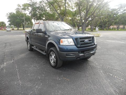 well equipped 2005 Ford F 150 FX4 pickup for sale