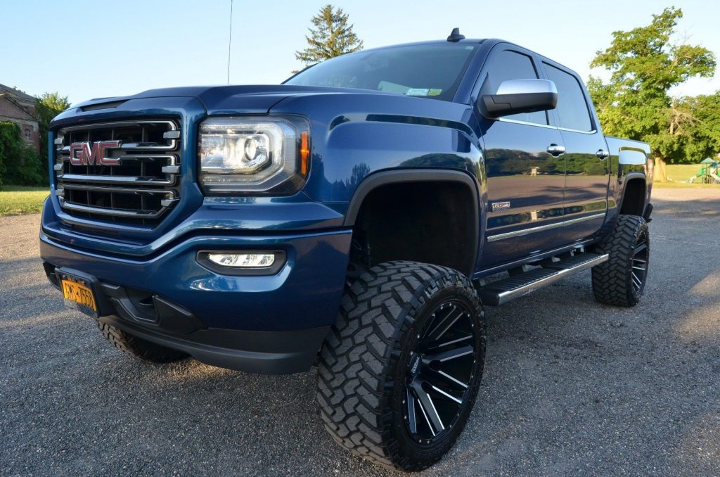 custom lift 2016 GMC Sierra 1500 SLE All Terrain pickup