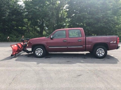 snow plow 2007 Chevrolet Silverado 1500 slt pickup for sale