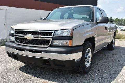 solid 2007 Chevrolet Silverado 1500 Work Truck pickup for sale