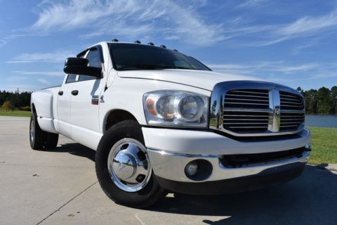 decent mileage 2008 Dodge Ram 3500 SLT pickup for sale