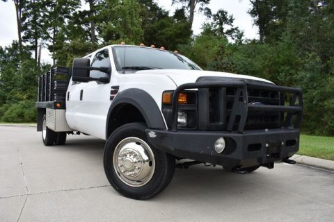 flat bed 2008 Ford F 550 XL pickup for sale