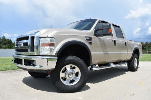 good shape 2008 Ford F 350 Lariat pickup for sale