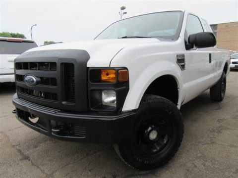 low miles 2008 Ford F 250 XL Supercab pickup for sale