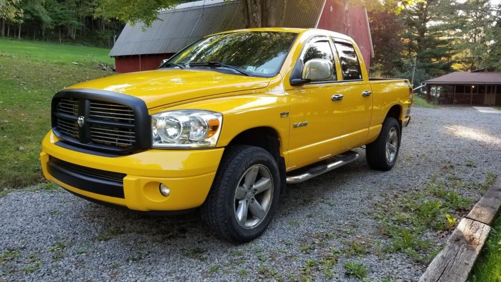 newer repaint 2008 Dodge Ram 1500 SLT Sport pickup