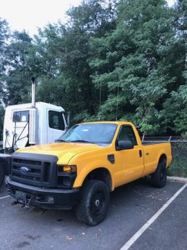 snow plow 2008 Ford F 250 pickup for sale