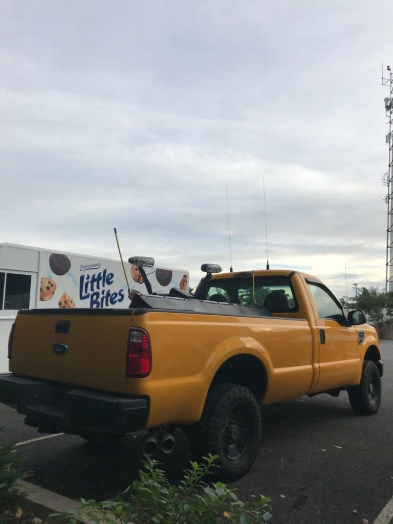 snow plow 2008 Ford F 250 pickup