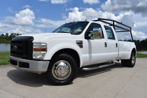 solid 2008 Ford F 350 XL super duty pickup for sale