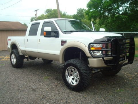 well equipped 2008 Ford F 250 KING RANCH pickup for sale