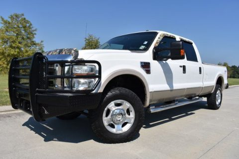 well equipped 2008 Ford F 350 Lariat pickup for sale