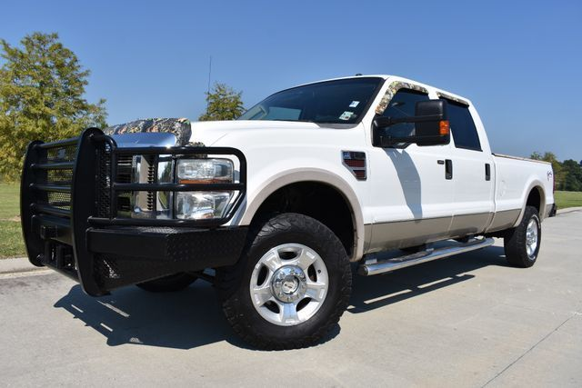 well equipped 2008 Ford F 350 Lariat pickup