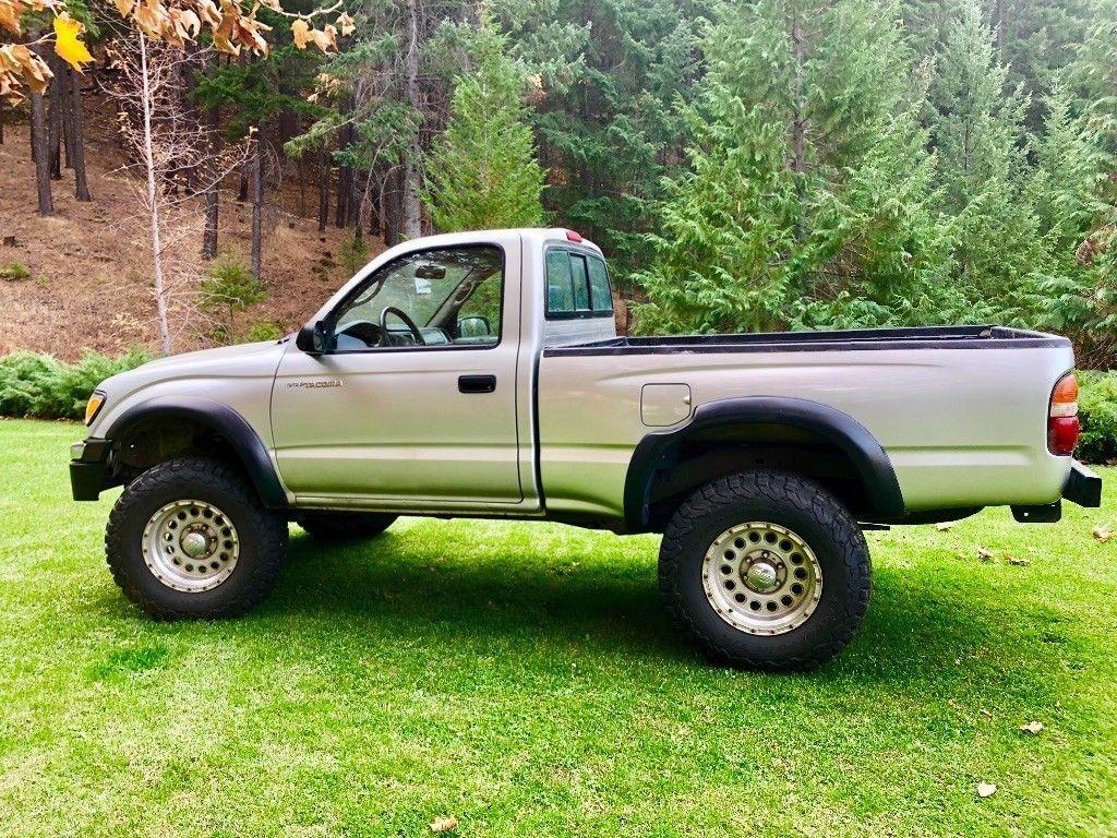 new paint 2003 Toyota Tacoma pickup