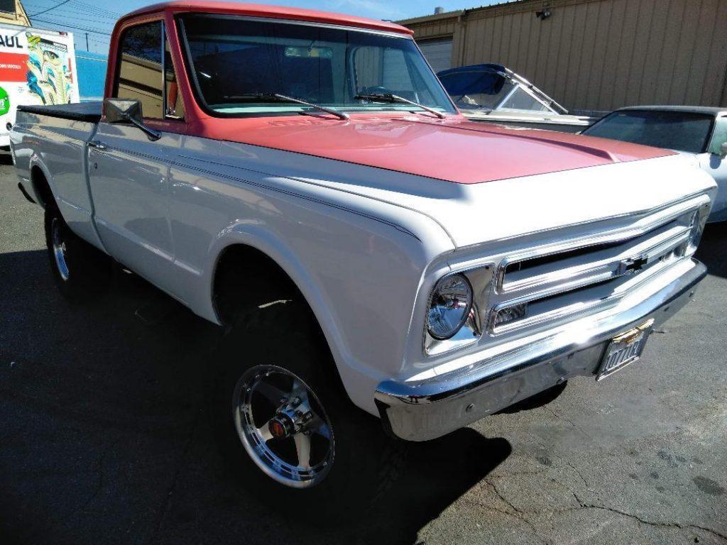 383 stroker 1967 Chevrolet C/K Pickup 1500 K10 pickup