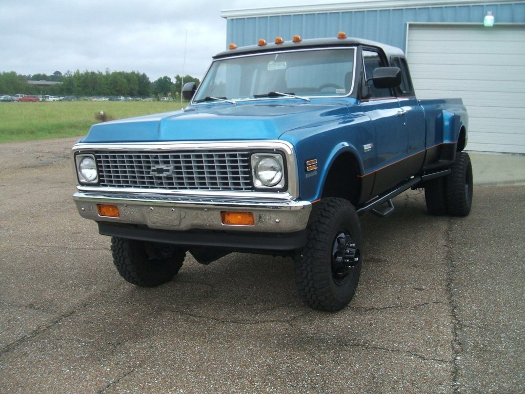 custom built 1972 Chevrolet C/K Pickup 3500 pickup