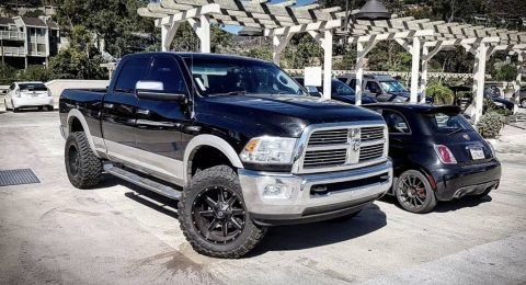 fully loaded 2010 Dodge Ram 3500 pickup for sale