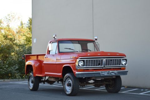 lifted 1970 Ford F 250 pickup for sale