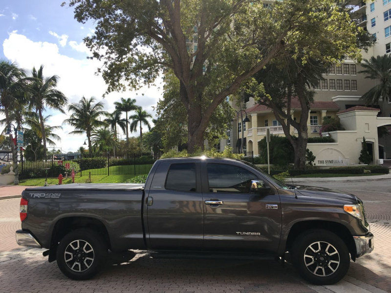low miles 2015 Toyota Tundra pickup
