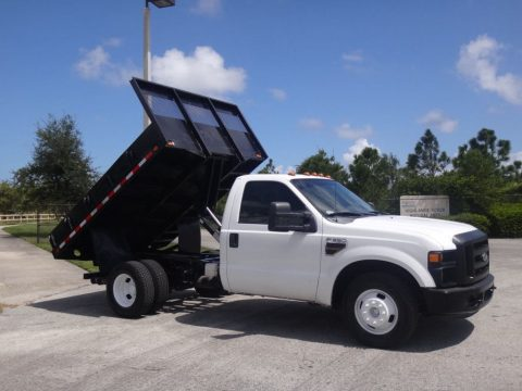 ready for work 2009 Ford F 350 Dump Truck pickup for sale