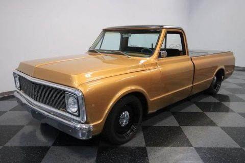 bagged 1972 Chevrolet C 10 pickup for sale