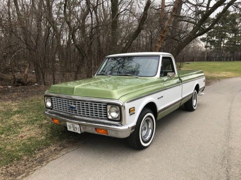 beautifully restored 1972 Chevrolet C 10 pickup for sale