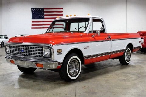 completely restored 1972 Chevrolet Cheyenne pickup for sale