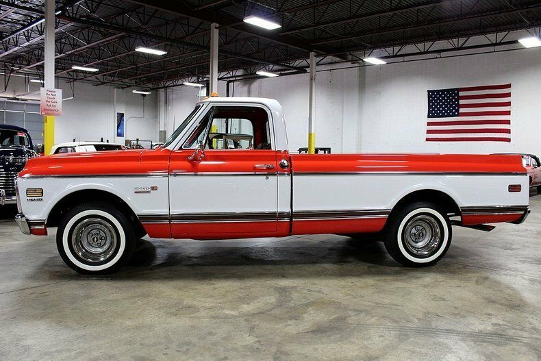completely restored 1972 Chevrolet Cheyenne pickup