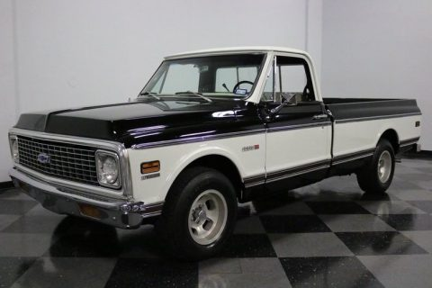 crate engine 1972 Chevrolet C 10 Cheyenne pickup for sale