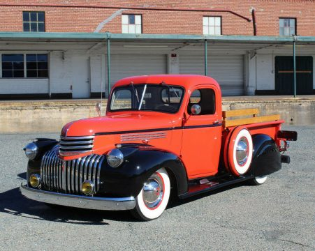 custom 1946 Chevrolet DeLUXE Pickup for sale