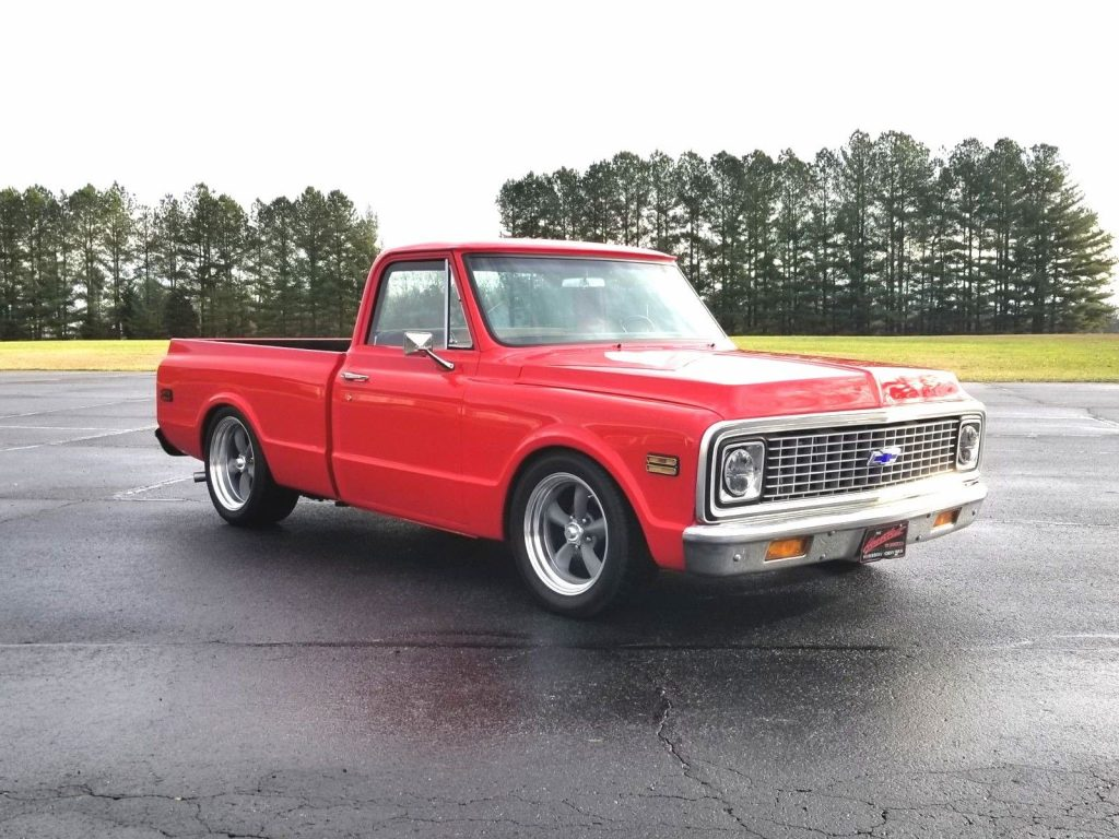 custom 1971 Chevrolet C 10 pickup