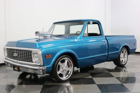 great build 1972 Chevrolet C 10 pickup for sale