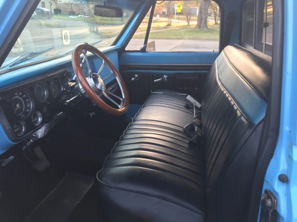 great running 1971 Chevrolet C 10 Pickup