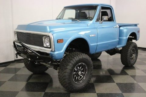 lifted 1971 Chevrolet C 10 4X4 Pickup for sale