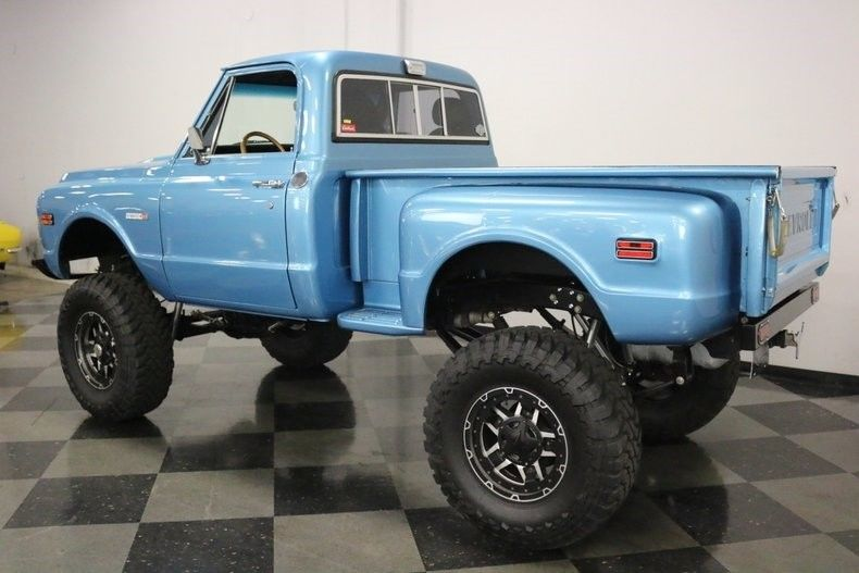 lifted 1971 Chevrolet C 10 4X4 Pickup