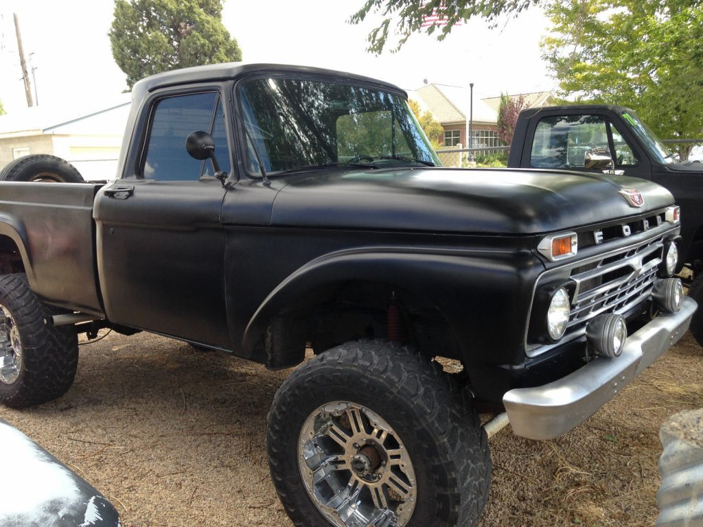 lifted monster 1963 Ford F 100 pickup