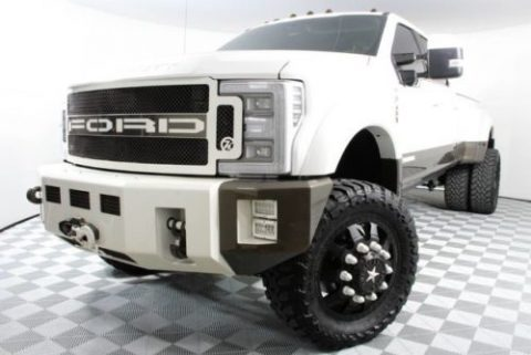 loaded custom 2017 Ford F450 King Ranch pickup for sale