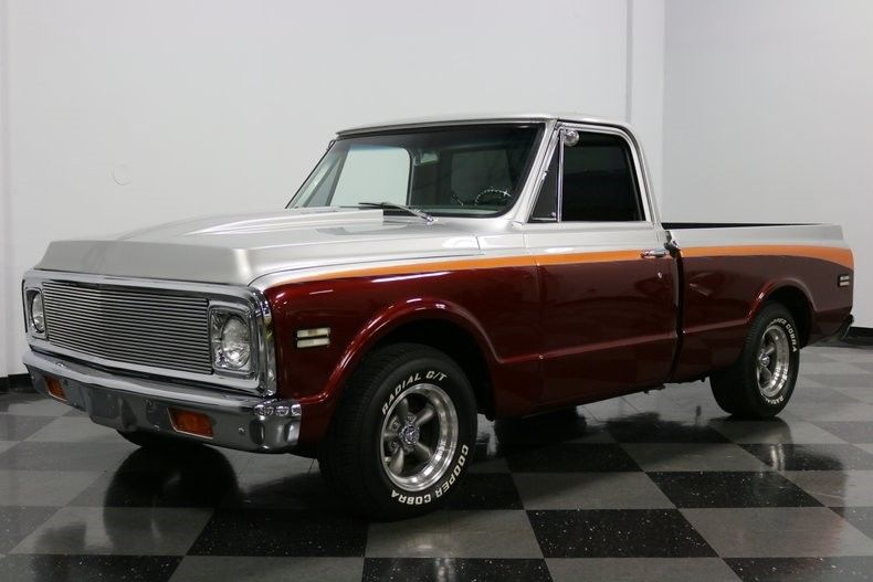 low mileage 1971 Chevrolet C 10 pickup