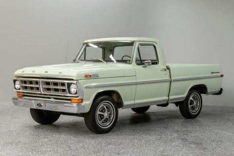 low miles 1971 Ford F 100 pickup for sale