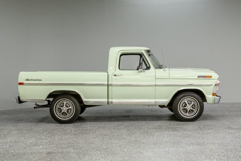 low miles 1971 Ford F 100 pickup