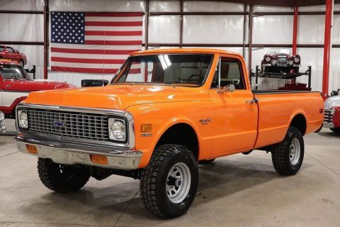 many new parts 1972 Chevrolet K10 Pickup for sale
