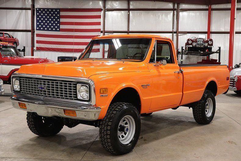 many new parts 1972 Chevrolet K10 Pickup