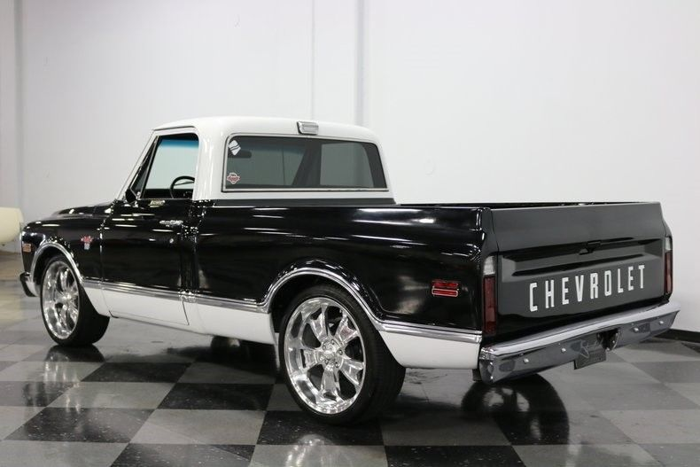 nicely modified 1971 Chevrolet C 10 restomod pickup