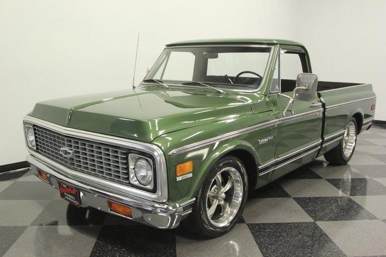 Nicely Restored 1972 Chevrolet C 10 Custom Deluxe pickup