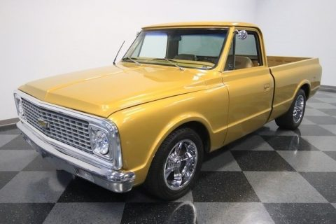 restomodded 1972 Chevrolet C 10 pickup for sale