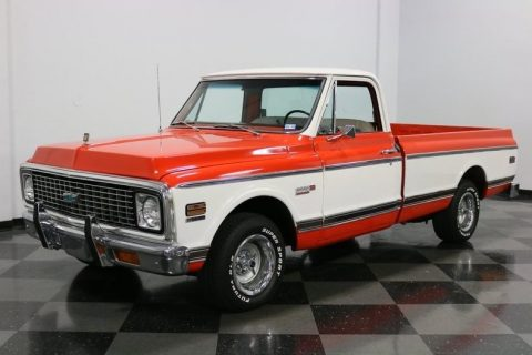 sharp classic 1972 Chevrolet C 10 Cheyenne Super pickup for sale