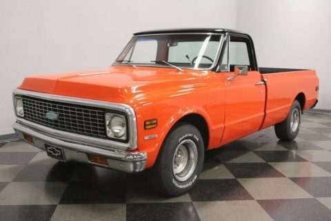 smooth running 1972 Chevrolet C 10 pickup for sale
