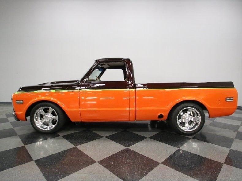 stroker 1972 Chevrolet C 10 Custom pickup