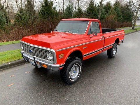 survivor 1972 Chevrolet C 10 Cheyenne pickup for sale