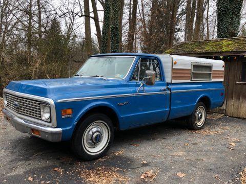 unrestored original 1972 Chevrolet C/K Pickup 2500 Highlander pickup for sale
